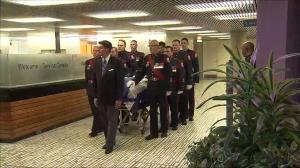 Rob Ford's casket departs City Hall for funeral procession